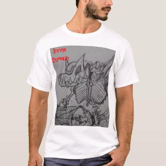 fricción del cráneo, demonio interno camiseta