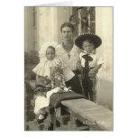 Frida Kahlo con los niños Tarjeta De Felicitación