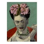 Frida Kahlo de García Villegas Postal