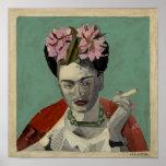 Frida Kahlo de García Villegas Póster