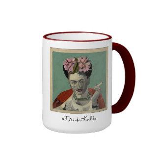 Frida Kahlo de García Villegas Taza De Dos Colores