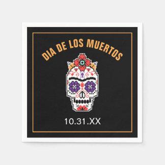 Frida Kahlo el | Dia De Los Muertos Servilletas Desechables