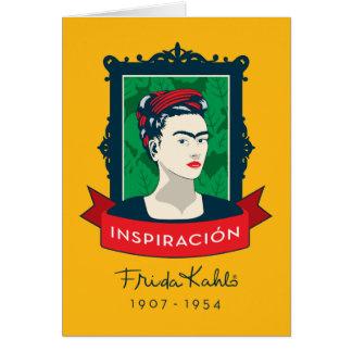 Frida Kahlo el | Inspiración Tarjeta Pequeña