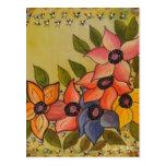 Frida Kahlo pintó Flores Tarjetas Postales