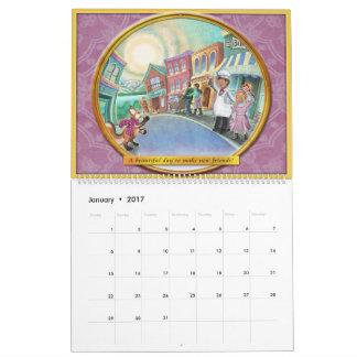 Frieda ata el calendario 2017 - grande - 11x14.25