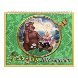 Frieda ata el calendario 2018