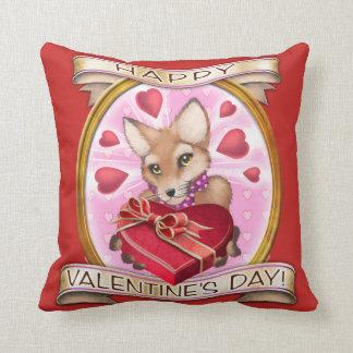 Frieda ata la almohada del el día de San Valentín