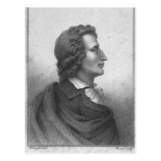 Friedrich Schiller grabó por Massol Postal