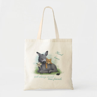 Friendship Shiba Donkey Inu & Bolso De Tela