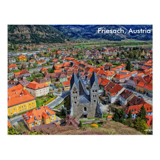 Friesach, Austria Postal