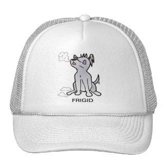 Frígido el gorra del perro de la nieve