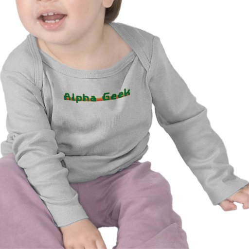 Friki alfa camiseta