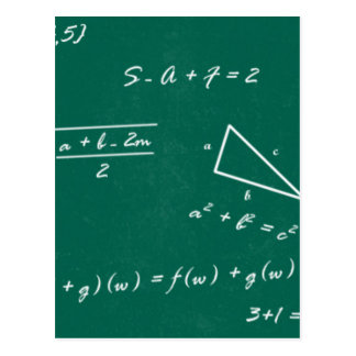 friki de la álgebra del profesor de matemáticas postal