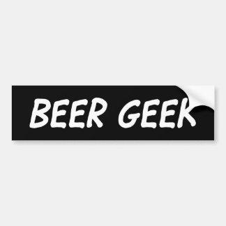 Friki de la cerveza - pegatina