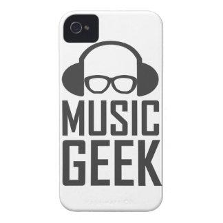 Friki de la música iPhone 4 Case-Mate protectores