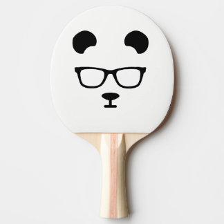Friki de la panda pala de ping pong