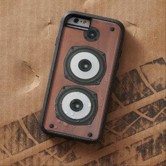 Friki del altavoz funda de iPhone 6 tough xtreme