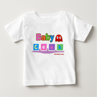 Friki del bebé camiseta de bebé