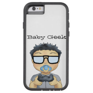 Friki del bebé (muchacho) funda tough xtreme iPhone 6