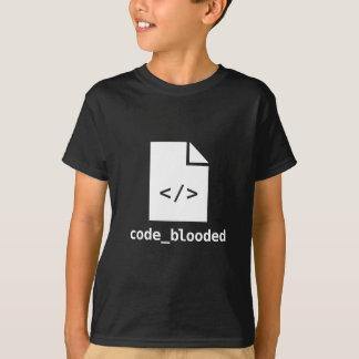 Friki del empollón del programador de la camiseta