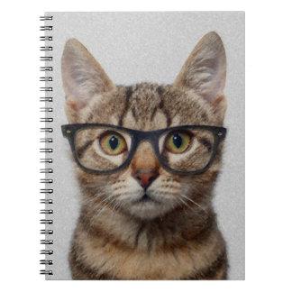 Friki del gato cuadernos