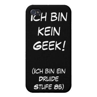 ¡Friki del kein del compartimiento de Ich iPhone 4 Cárcasa