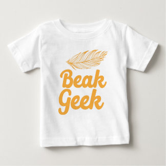 friki del pico camiseta de bebé