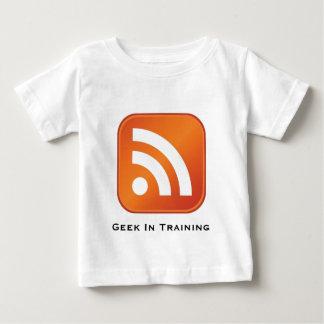 Friki del RSS en camiseta del niño del
