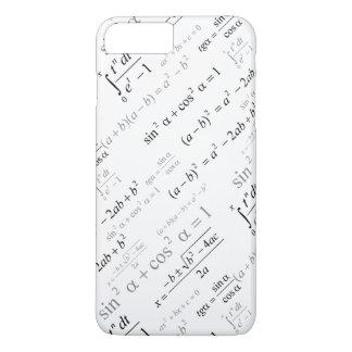 Friki divertido de la matemáticas de las fórmulas funda iPhone 7 plus