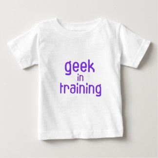 Friki en bebé del entrenamiento camisetas