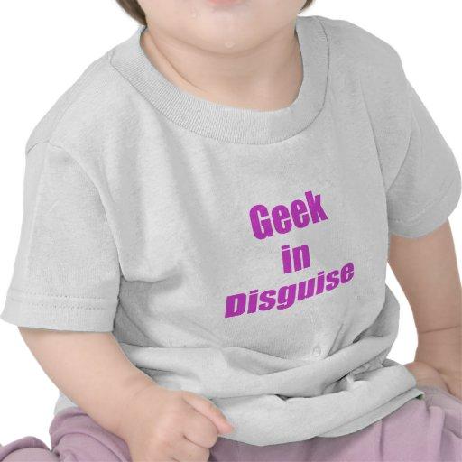 Friki en disfraz camiseta