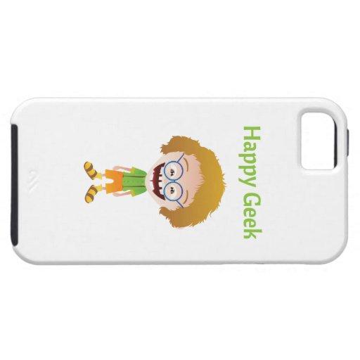 Friki feliz iPhone 5 Case-Mate carcasas