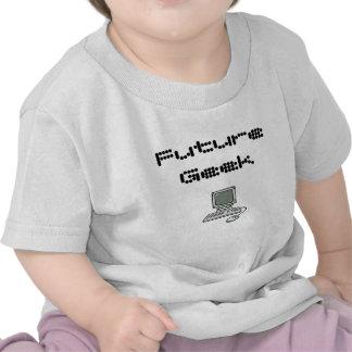 Friki futuro camiseta