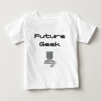 Friki futuro camiseta de bebé