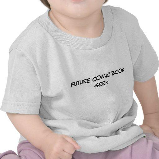 Friki futuro del cómic - bebé camiseta