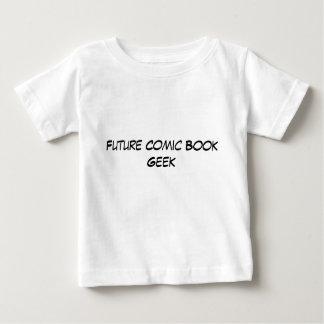 Friki futuro del cómic - bebé camiseta para bebé