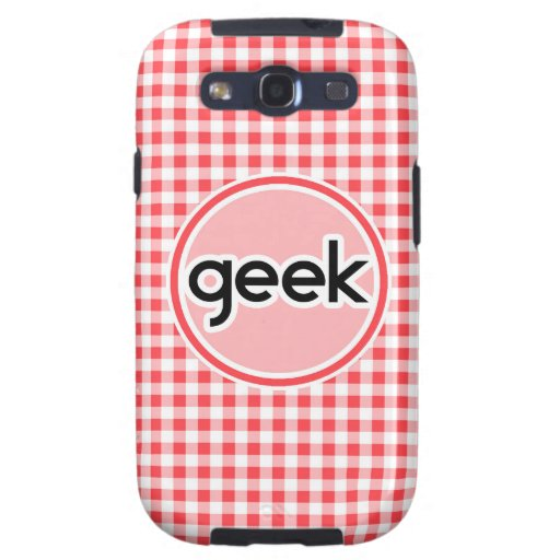 Friki; Guinga roja y blanca Galaxy S3 Protector