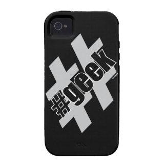 Friki Hashtag iPhone 4/4S Fundas