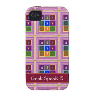 FRIKI: Juegos de concurso para los niños Case-Mate iPhone 4 Carcasas