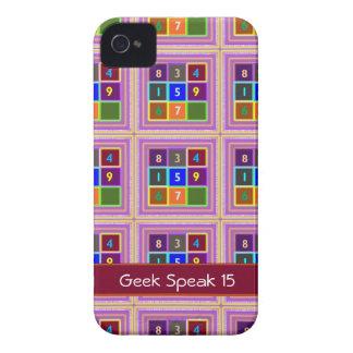 FRIKI Juegos de concurso para los niños iPhone 4 Case-Mate Cárcasa