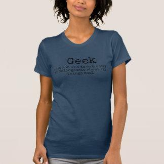 ¿Friki o empollón? La camiseta de las mujeres: