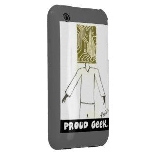friki orgulloso funda para iPhone 3 de Case-Mate
