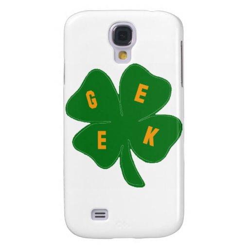Friki orgulloso ser amor irlandés del trébol
