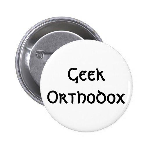Friki ortodoxo - botón pins
