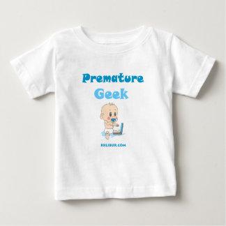 Friki prematuro camiseta de bebé