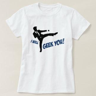 ¡Friki usted! Camiseta