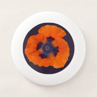 Frisbee De Wham-O Amapola anaranjada 1 del escarlata