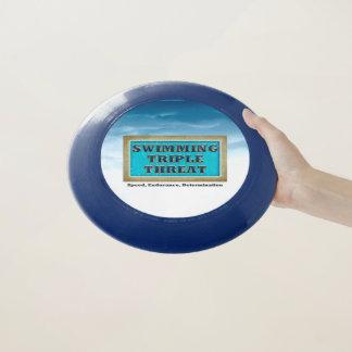 Frisbee De Wham-O Amenaza SUPERIOR del triple de la nadada