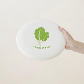 Frisbee De Wham-O Aprovisionado de combustible por la col rizada