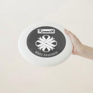 Frisbee De Wham-O Cinta del trébol blanco de Kenneth Yoncich